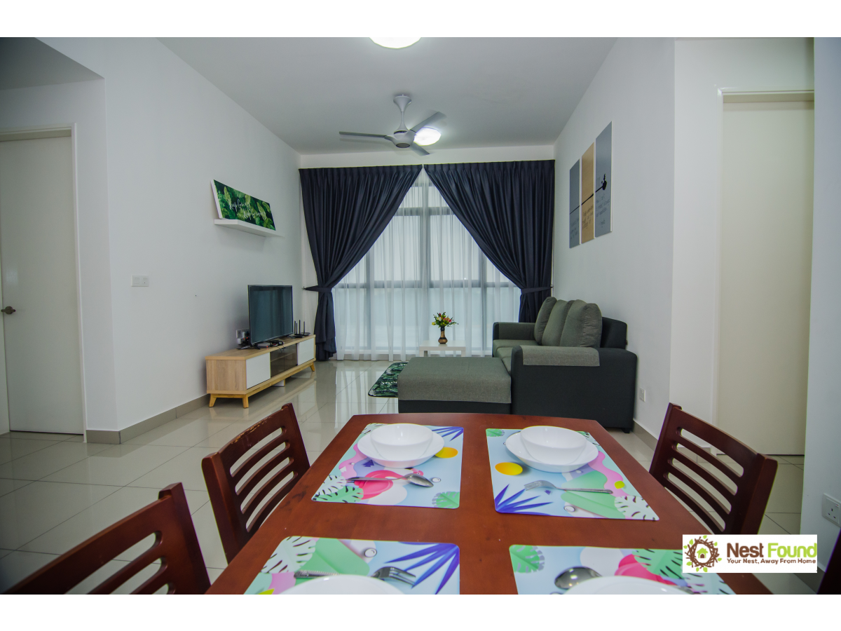 Pleasant stay for 6pax@Conezion, IOI Resort City for Rent