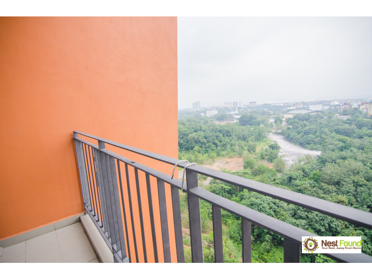 Tranquil 2+1Bed/2Bath, Clio Residence, IOI Resort for Rent